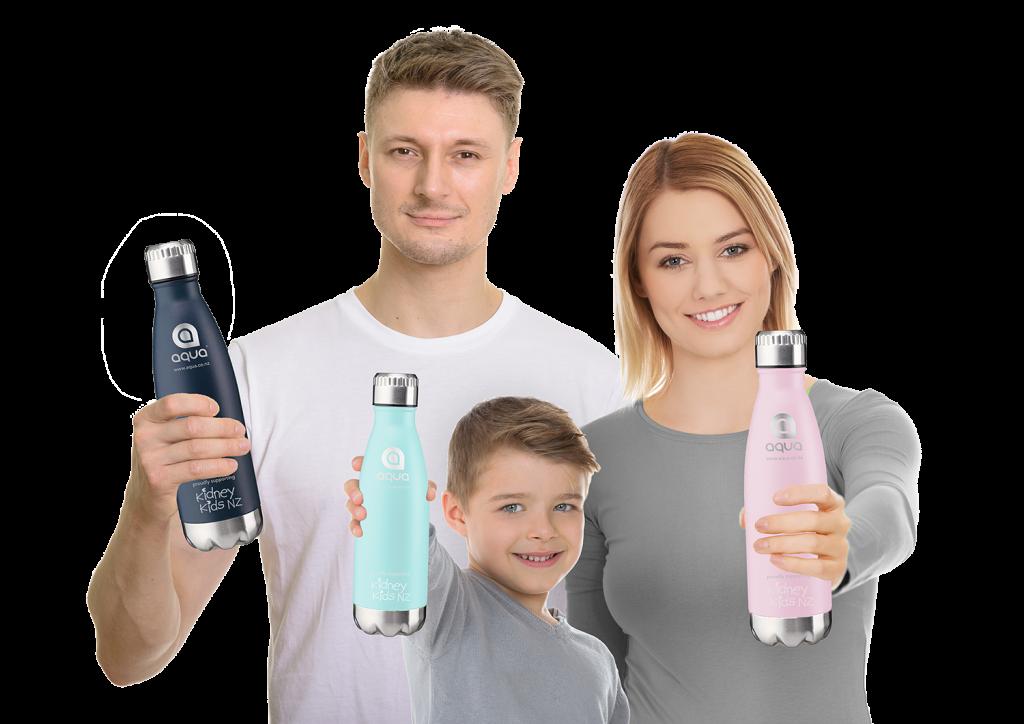 Go Green Family with Bottles